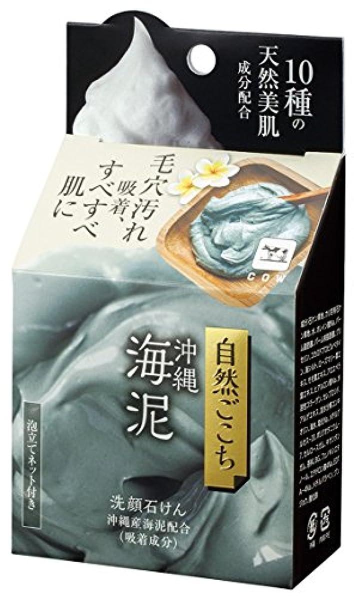 飽和する男らしさキャプション自然ごこち 沖縄海泥 洗顔石けん 80g