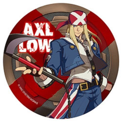 GUILTY GEAR Xrd -SIGN- BIG缶バッジ アクセル=ロウ