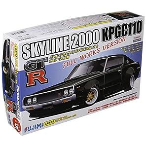 フジミ模型 1/24 インチアップシリーズ No.136 ケンメリ2ドア ワークス仕様 プラモデル ID136