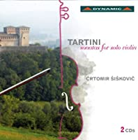 Tartini: Sonatas Solo Violin Vol 1 (Dynamic: CDS721) by Crtomir Siskovic (2012-06-11)