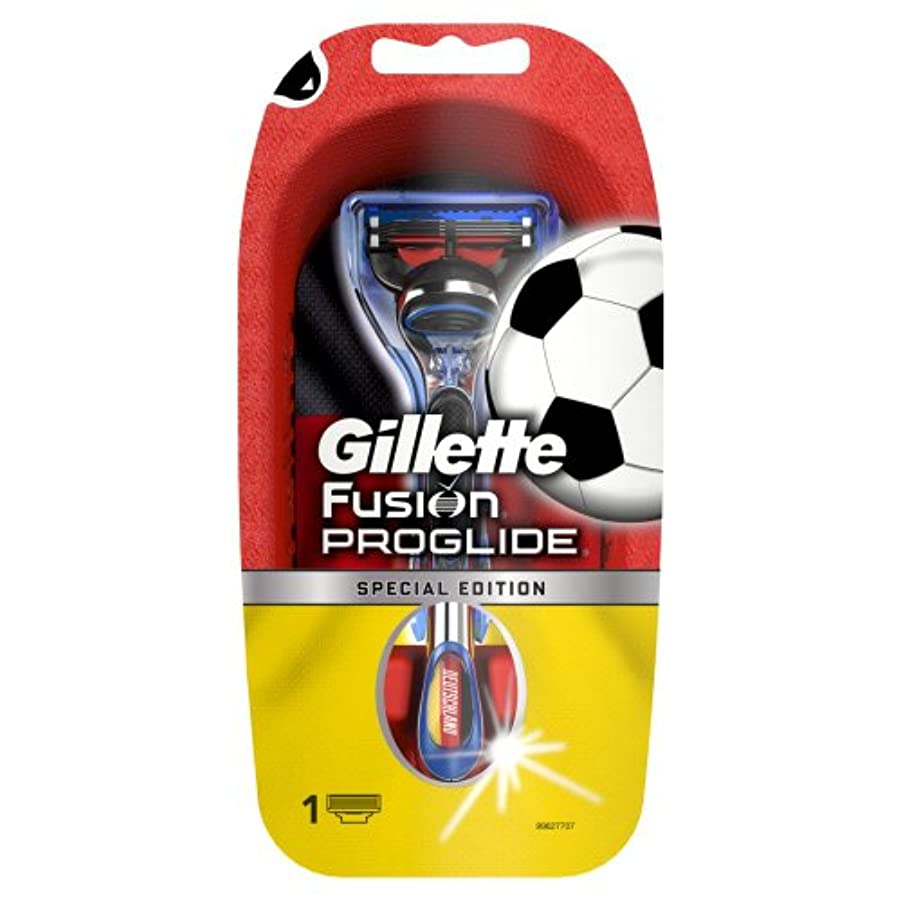 失敗相反する裸【数量限定品】 ジレット プログライド サッカードイツモデルホルダー