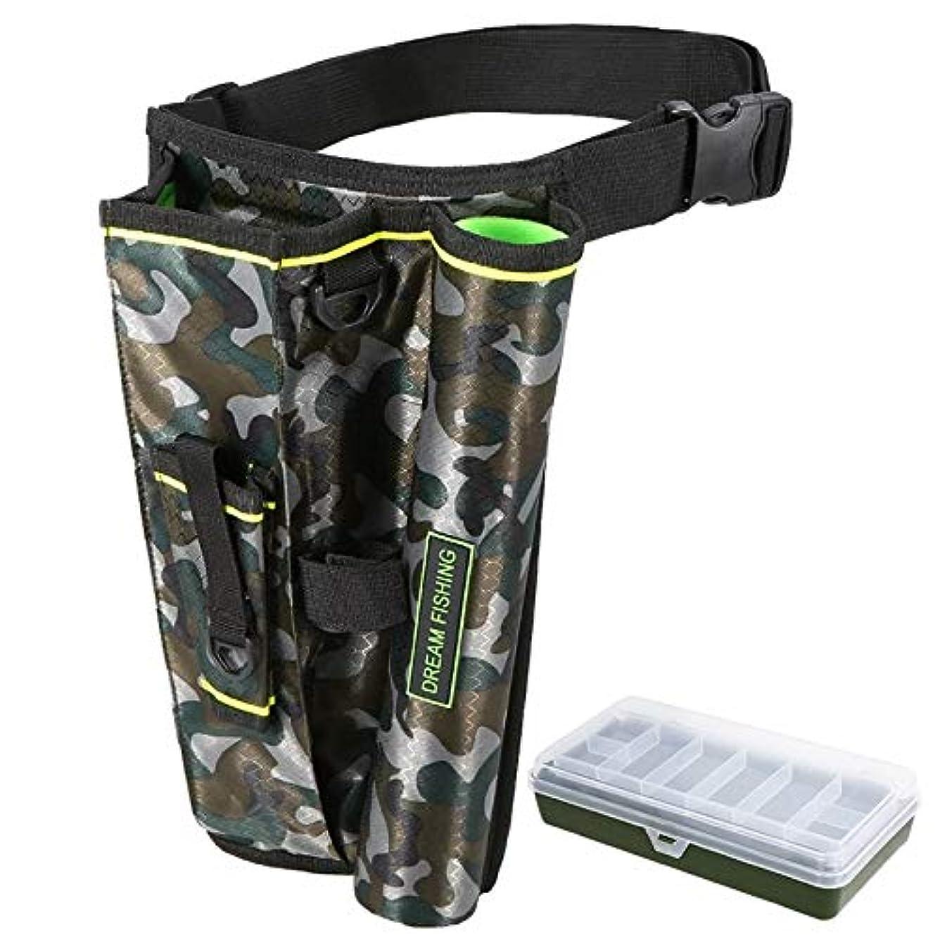 モンキー請負業者後継SODIAL 2 In 1 ポータブル釣りバッグタックルボックス折りたたみ釣り収納キャリーバッグ