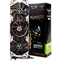 nacome iGame Nvidia Geforce GTX 1070tiバルカンAdグラフィックスcard-8gbps 1607/ 1683mhz gddr5256bit PCI - E 3.0DirectX 12SLI VR Ready With HDMI DP DVI - Dポート