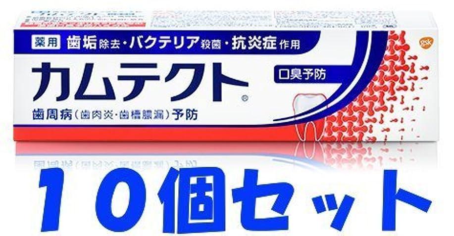 調子法王受粉する【10個セット】カムテクト 口臭予防 105g
