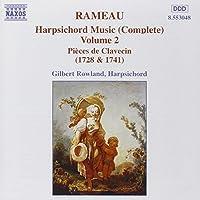 Jean-Philippe Rameau : Music for Harpsichord Volume 2
