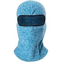Zhhlaixing 冬 Thicken 防風 暖かい Balaclava Mask 屋外の Adjustable Breathable スポーツ Headscarf Multi-Purpose