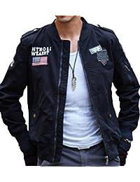 (アルファーフープ) α-HOOP メンズ カーゴ アウター ミリタリー 長袖 ブルゾン ジップアップ ジャケット ジャンパー 上着 ma-1 QR-4