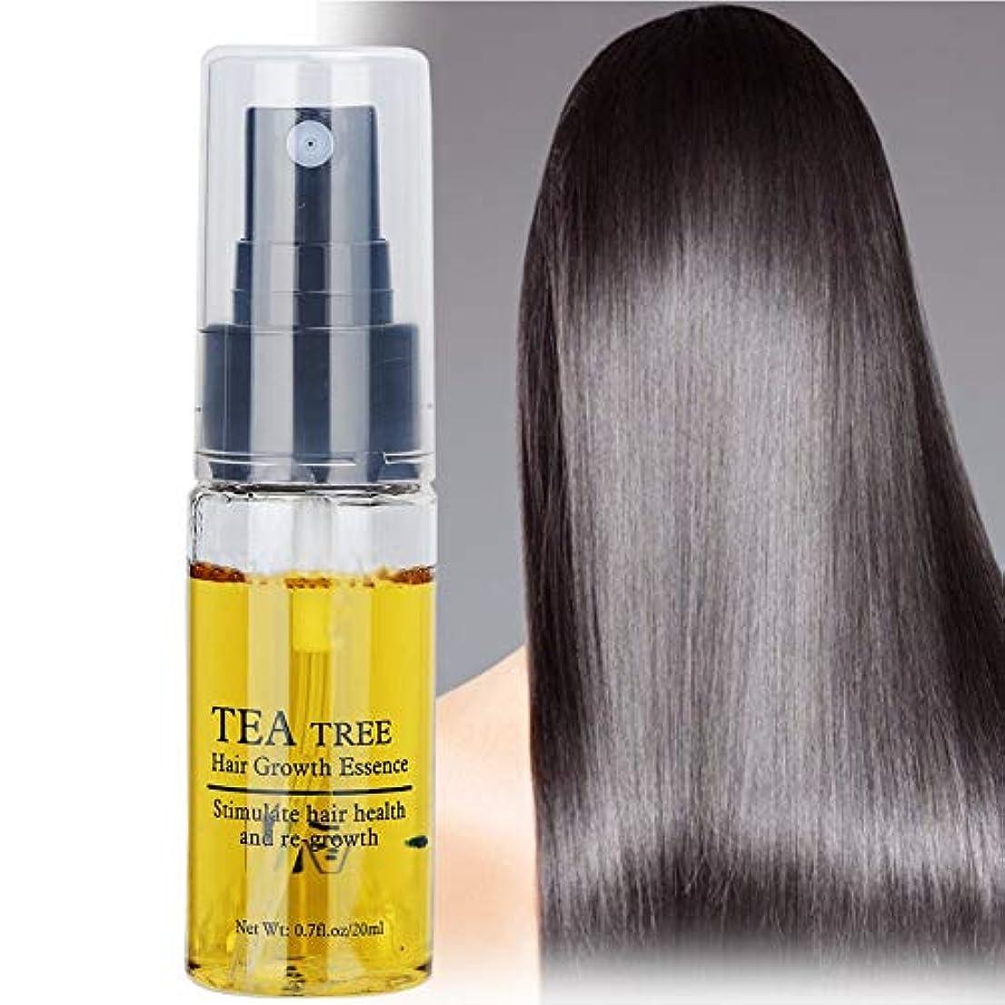 カナダ忍耐取り囲む毛の成長の液体、反毛損失20ml茶速い毛の成長の本質の反毛損失の養う自然な植物のエキス