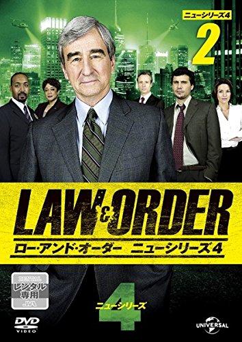 LAW&ORDER ロー・アンド・オーダー ニューシリーズ4 Vol.2(第3話~第4話)