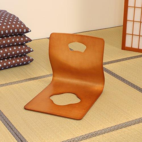 弘益 座椅子 ブラウン