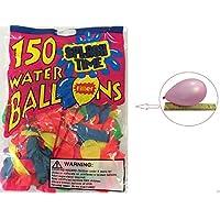 Wennow 150個Water Bombsカラフル水バルーンforパーティー子供砂おもちゃ