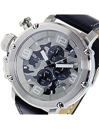 コグ クオーツ クロノ メンズ 腕時計 C61-CGY グレーカモフラ