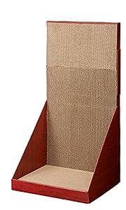 ミュー (mju:) 爪とぎ ガリガリウォール スクラッチャー ブラウン H70cm
