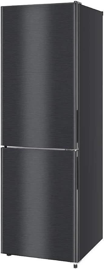 冷蔵庫 231L 2ドア 大容量 新生活 霜取り不要 コンパクト 右開き オフィス 単身 家族 一人暮らし 二人暮らし 新品 おしゃれ ガンメタリック 黒 ブラック 1年保証 maxzen JR230ML01GM