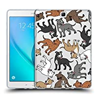 Head Case Designs アメリカン・スタフォードシャー・テリア ドッグブリード・パターン 11 ソフトジェルケース Samsung Galaxy Tab A 9.7