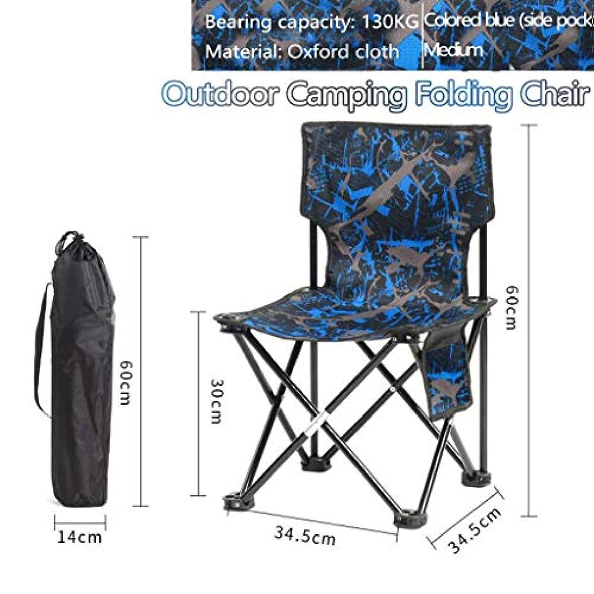 作家木曜日からかうキャンプ用折りたたみ椅子 ビーチチェア, スツール ポータブル 快適 調整可能 オックスフォード布 アウトドア ハイキング 釣り ピクニック バーベキュー