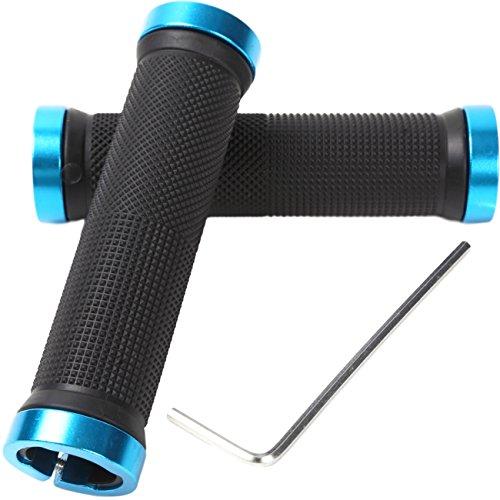 factus 自転車 ハンドル グリップ 握りやすく疲労軽減 φ22.2mm用 六角レンチ付き