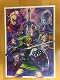 ゼルダの伝説 25周年 記念 ポスター 全3種 +修正版1種 +販促ポスター