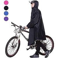 レインコート 自転車 バイク レディース メンズ レインポンチョ ロング ポンチョ 男女兼用 通勤通学 フリーサイズ 完全防水 高品質 四季通勤 収納袋付き 4カラー