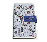 Infini-T Force 02 ちりばめデザイン(グラフアートデザイン) 手帳型マルチケース