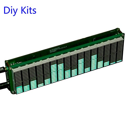 16 level LED 音楽 オーディオ スペクトラムインジケータ アンプボード緑色のスピードAGCモード Adjustable With AGC Mode DIY KITS