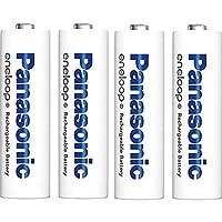 パナソニック eneloop 単3形充電池 4本パック スタンダードモデル バルク簡易パック 4本収納電池ケースサービス (グリーン)