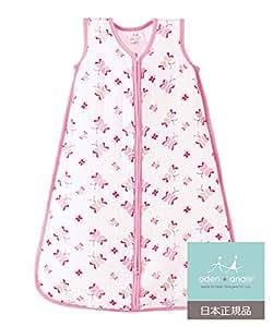 aden + anais (エイデンアンドアネイ) 【日本正規品】 クラシック スリーピング バッグ (スリーパー) princess posie sleeping bag (M) 8027