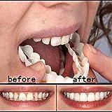 快適なスナップオン男性女性歯インスタントパーフェクトスマイルコンフォートフィットフレックス歯フィットホワイトニング笑顔偽歯カバー