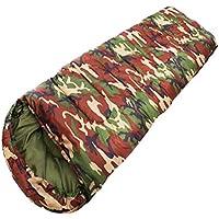 サマーキャンプハイキング屋外寝袋アクセサリーMats Quilts- Camo