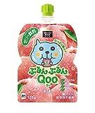 コカ・コーラ ミニッツ メイド ぷるんぷるんQoo クー もも ゼリー飲料 パウチ 125g×30袋