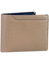 (ミラグロ) Milagro イタリア製革 パンチングレザー 二つ折り財布 メンズ 財布 本革 [BESPOKE ビスポーク] BTWS16
