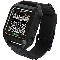 GreenOn(グリーンオン) ゴルフナビ GPS ザ・ゴルフウォッチ スマート ブラック スマホ連動 ランニング/ウォーキング用機能付 GC01-BK