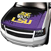 LSU NCAA Auto Hood Cover