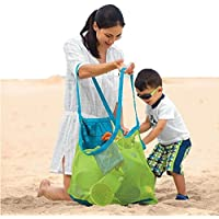 Usstore Beach Toys Receive Bag Mesh Sandboxes Away Kid Baby Child Storage Shell Net Gift Toy Gift