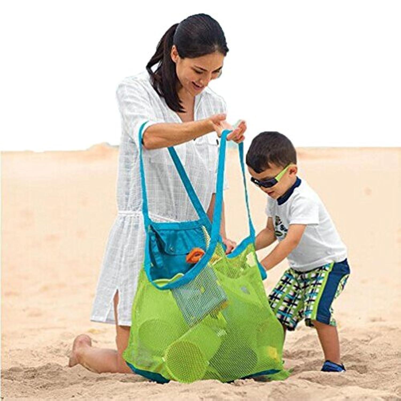 Usstore Beach Toys Receive Bag Mesh Sandboxes Away Kid Baby Child Storage Shell Net Gift Toy Gift