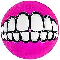 "Kong Rogz Asteroids Grinz Soft Float Fun Fetching Treat Ball Dog Toy Medium 2.4"""