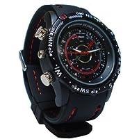 Ugetde 8GB 腕時計型防水デジタルビデオ&カメラ 高解像度1280×960(録画、防犯、証拠撮影)