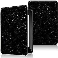 AINOYA Kindle第10世代用 保護カバー 保護ケース 軽量 薄型 ファッション 自動スリープ機能 マグネット機能付き スクラッチ防止 衝突防止 ブラック (星座)
