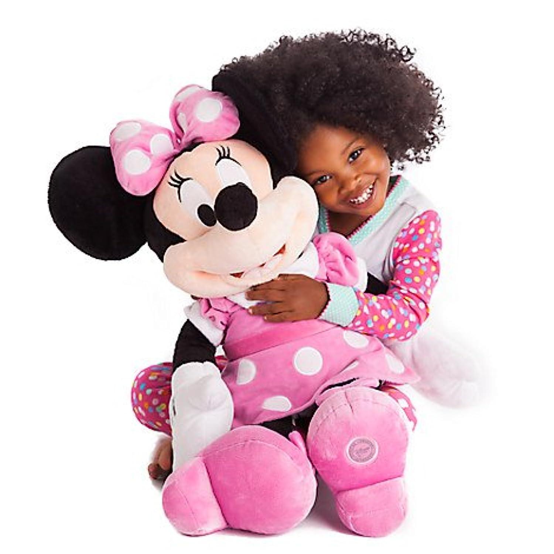 ミニーマウス ぬいぐるみ 大きい ラージサイズ 68.5cm ピンク ディズニー キャラクター おもちゃ 人形 [並行輸入品]
