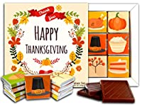 "DA CHOCOLATE キャンディ スーベニア ""感謝祭"" THANKSGIVING チョコレートセット 5×5一箱 (Flower)"