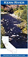 Kern River 11x17 Fly Fishing Map by Wilderness Adventures Press