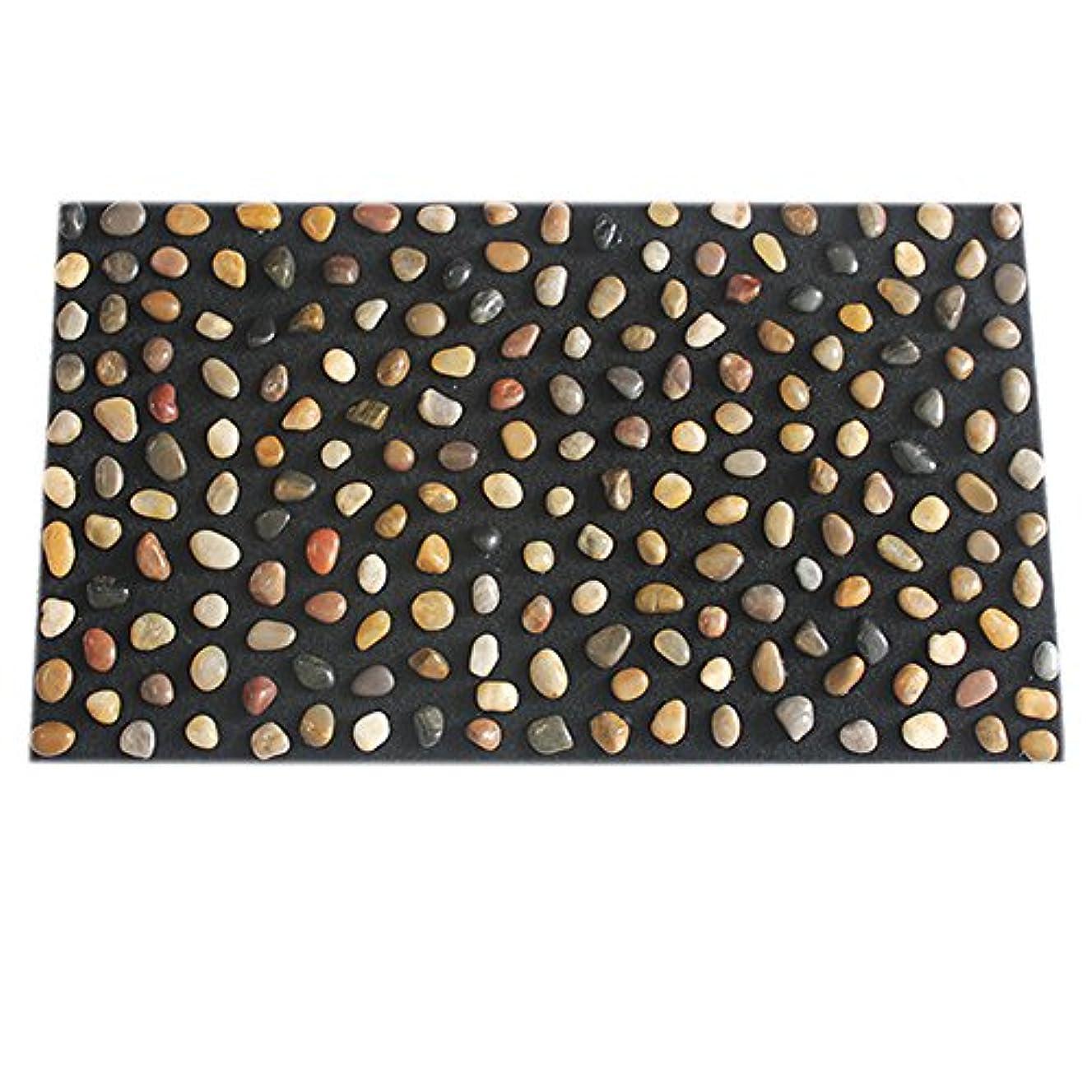 要件豊かにする放散する足つぼ マット マッサージシート マッサージ 足裏 健康 ツボ刺激 折りたたみ ウォーキングマット 足裏マット 本物の健康 フットマッサージ 足のマッサージパッド 模造石畳の歩道