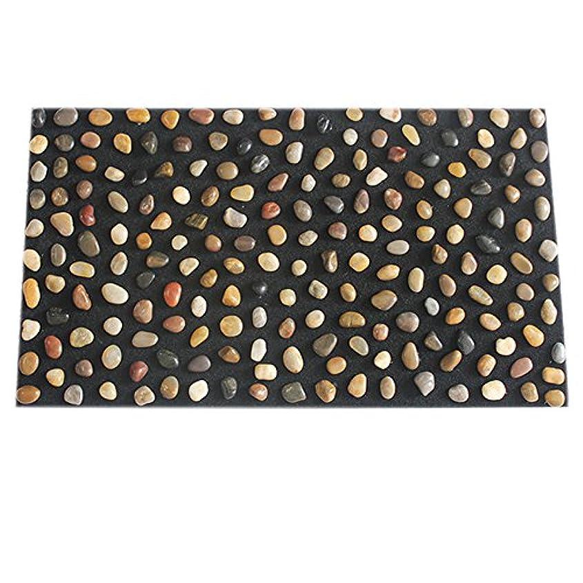 モック比類なき普通の足つぼ マット マッサージシート マッサージ 足裏 健康 ツボ刺激 折りたたみ ウォーキングマット 足裏マット 本物の健康 フットマッサージ 足のマッサージパッド 模造石畳の歩道