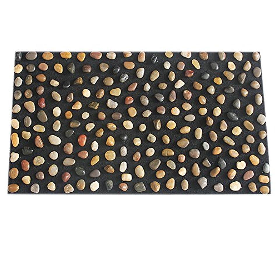 収穫順応性むき出し足つぼ マット マッサージシート マッサージ 足裏 健康 ツボ刺激 折りたたみ ウォーキングマット 足裏マット 本物の健康 フットマッサージ 足のマッサージパッド 模造石畳の歩道