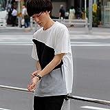 BACK NUMBER(バックナンバー) 汗染み防止パネル切り替え半袖Tシャツ メンズ