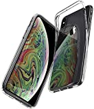 【Spigen】 iPhone XS Max ケース 6.5インチ 対応 TPU 超薄型 超軽量 クリア リキッド・クリスタル 065CS25122 (クリスタル・クリア)