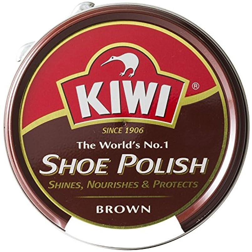 生む蒸気バイパス[Kiwi] キィウイ 靴墨 シューポリッシュ 油性靴クリーム[45ml][黒?茶?無色] キューイ 靴クリーム