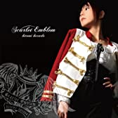 原田ひとみ3rdシングル「Scarlet Emblem」【初回限定盤】