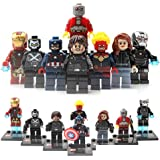Marvel Avengers マーブル アベンジャーズ ミニフィグ キャプテンアメリカ アイアンマン  8体セット