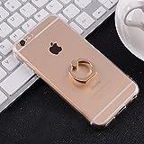 iphone8 ケース リング付き iphone8 ケース おしゃれ iphone8 ケース 透明 iphone8 ケース 指 リング 超薄 超軽量 高級感 手触り良い 落下防止 iphone8専用 四色 OSONA